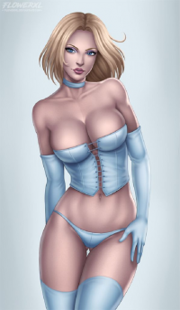 Emma Frost from Flowerxl
