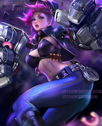 Vi/Officer from Sakimi Chan
