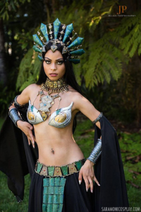 Sara Moni Cosplay as Akasha