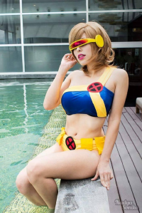 Nadya Sonika as Cyclops