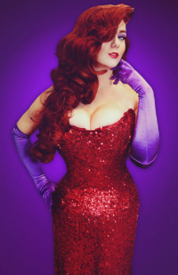 Lily Spitfire as Jessica Rabbit