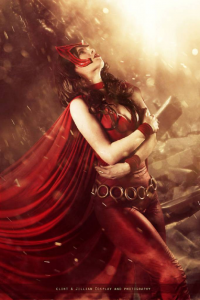Florencia Jillian Sofen as Scarlet Witch