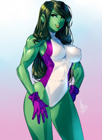 She-Hulk from Carlos Javier