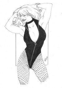 Black Canary from Kaloy Costa
