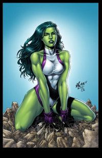 She-Hulk from Omi Remalante jr.