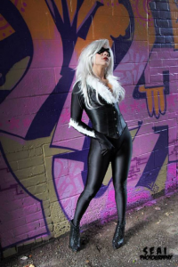 Bec's Cosplay Wonderland as Black Cat