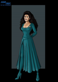 Deanna Troi from Gary Anderson