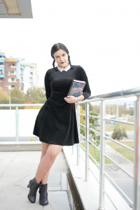 Sarandiell as Wednesday Addams