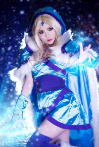Misa Chiang-米砂 as Crystal Maiden