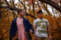 Chex33 as Eleven, Kaleb Jones as Dustin Henderson