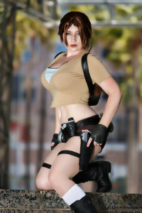 Wind of the Stars as Lara Croft