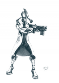 Mordin Solus from Homicide-Crabs