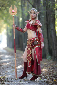 Lena-Lara as Blood Elf