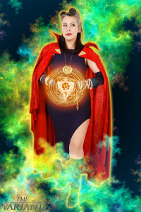 Scarlettspitfire as Doctor Strange