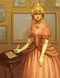 Princess Peach from Elizabeth Sherry