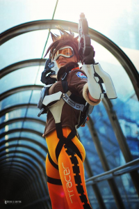 Ardsami Cosplay as Tracer