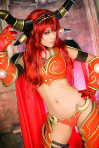 Tasha Cosplay as Alexstrasza