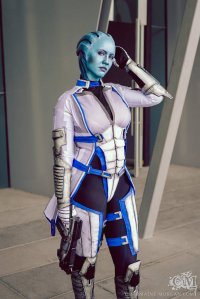 Soylent Cosplay as Liara T'Soni
