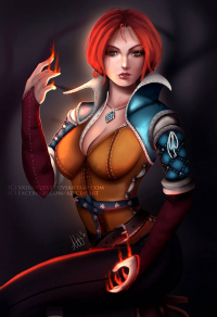 Triss Merigold from Lushiesart