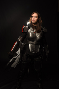 Chaos Maiden Cosplay as Jane Shepard