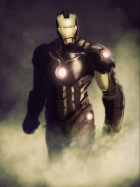 Iron Man from Brian Laborada