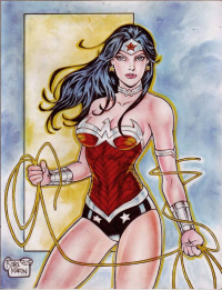 Wonder Woman from Martin Rodel