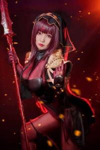 肉感少女-Neneko as Scathach