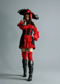 Unknown Female Artist as Pirate