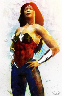 Wonder Woman from archangelgabriel