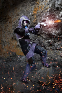 Icedragoncosplay as Tali'Zorah nar Rayya