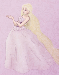 Princess Rapunzel from Beatrice Lorén