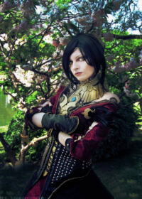 Ise Cosplay as Morrigan