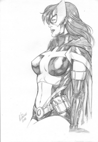 Huntress from Ed Benes Studio