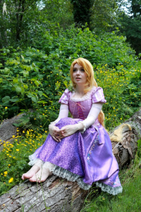 Mimi Reaves as Princess Rapunzel