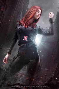 Florencia Jillian Sofen as Black Widow