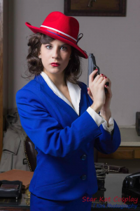 Starkat Cosplay as Peggy Carter