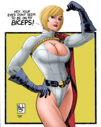 Power Girl from Heder Silva de Lima