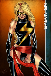 Ms. Marvel from Cliff England