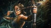 Lara Croft from Adam Vehige