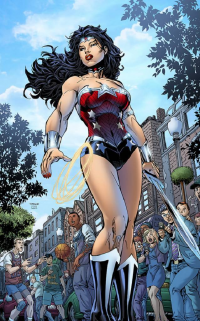Wonder Woman from Sean Ellery