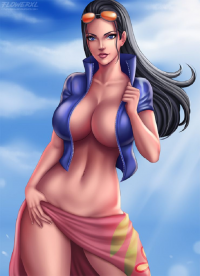 Nico Robin from Flowerxl