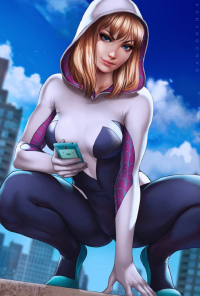 Spider Gwen from Dandonfuga