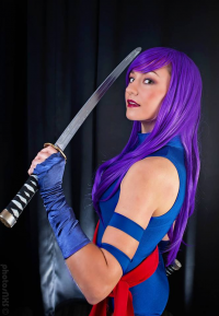 Useless Materia Cosplay as Psylocke
