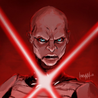 Asajj Ventress from James Bousema