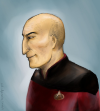 Jean-Luc Picard from pickledpennies