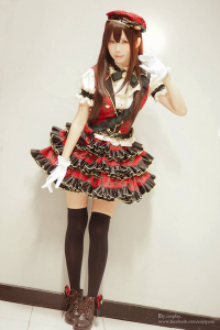 Ely Cosplay as Rin Shibuya