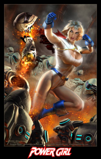 Power Girl from Douglas Shuler