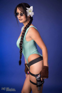 Ivy Cosplay as Lara Croft
