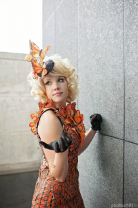SailorHasChopstickss as Effie Trinket