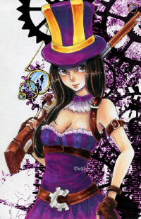 Caitlyn from bluepierrot